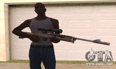 Sniper rifle from Left 4 Dead 2 for GTA San Andreas third screenshot