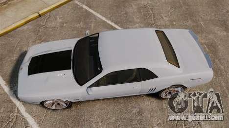 GTA V Declasse Gauntlet ZL1 2014 Facelift for GTA 4 right view