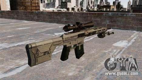Sniper rifle Remington R11 RSASS for GTA 4 second screenshot