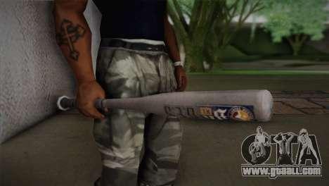 Baseball bat from GTA 5 for GTA San Andreas third screenshot