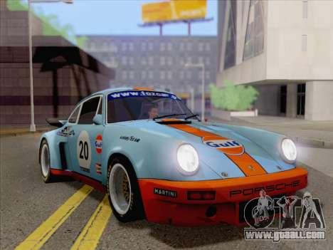 Porsche 911 RSR 3.3 skinpack 2 for GTA San Andreas
