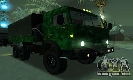 Army KAMAZ 4310 for GTA San Andreas