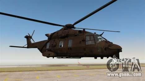 Eurocopter NHIndustries NH90 [EPM] for GTA 4 back view