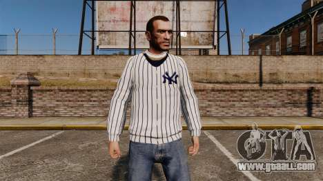 Sweater-New York Yankees- for GTA 4