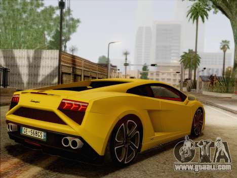 Lamborghini Gallardo 2013 for GTA San Andreas left view