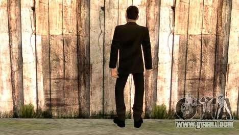 Smith from movie matrix for GTA San Andreas second screenshot