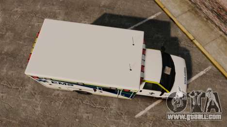 Brute Alberta Health Services Ambulance [ELS] for GTA 4 right view
