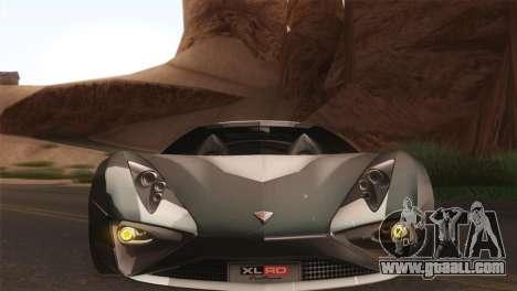 SuperMotoXL CONXERTO v2.0 for GTA San Andreas back view