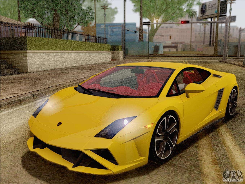 Lamborghini Gallardo 2013 For GTA San Andreas