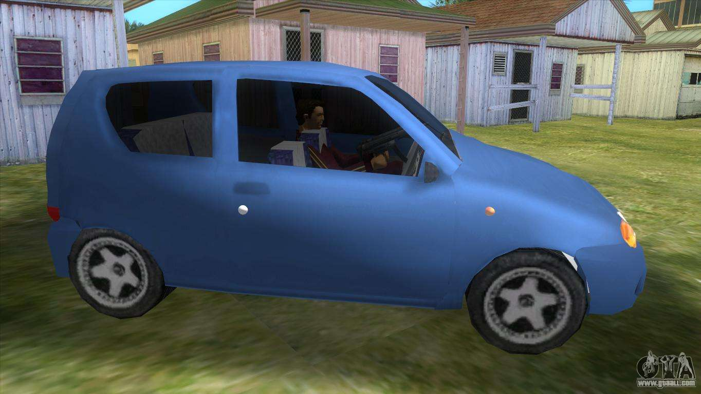 fiat seicento for gta vice city. Black Bedroom Furniture Sets. Home Design Ideas