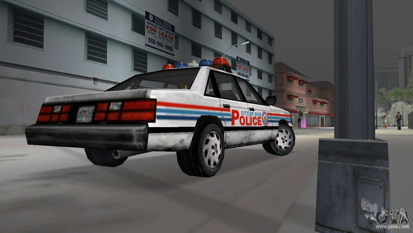 Beta Police Car For Gta Vice City