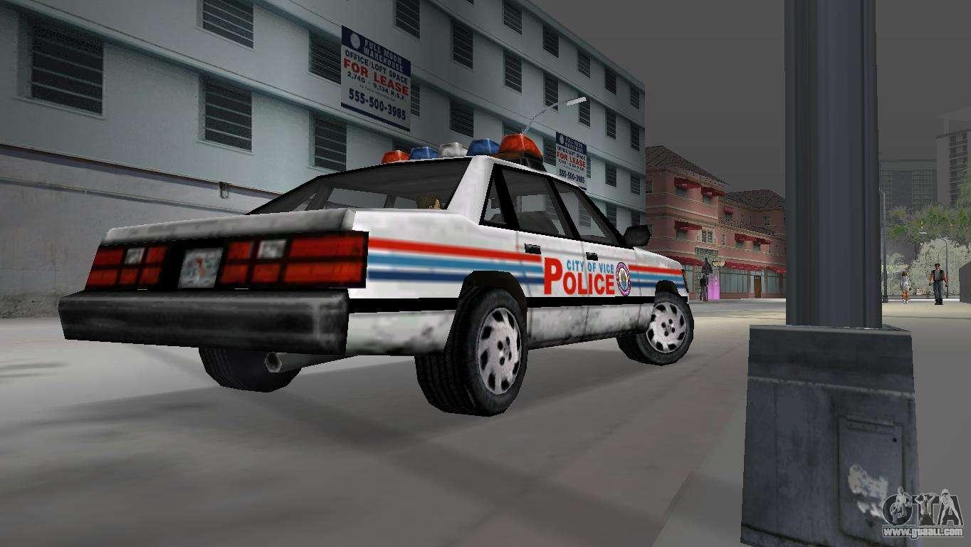 Gta Vice City Police Car Mods