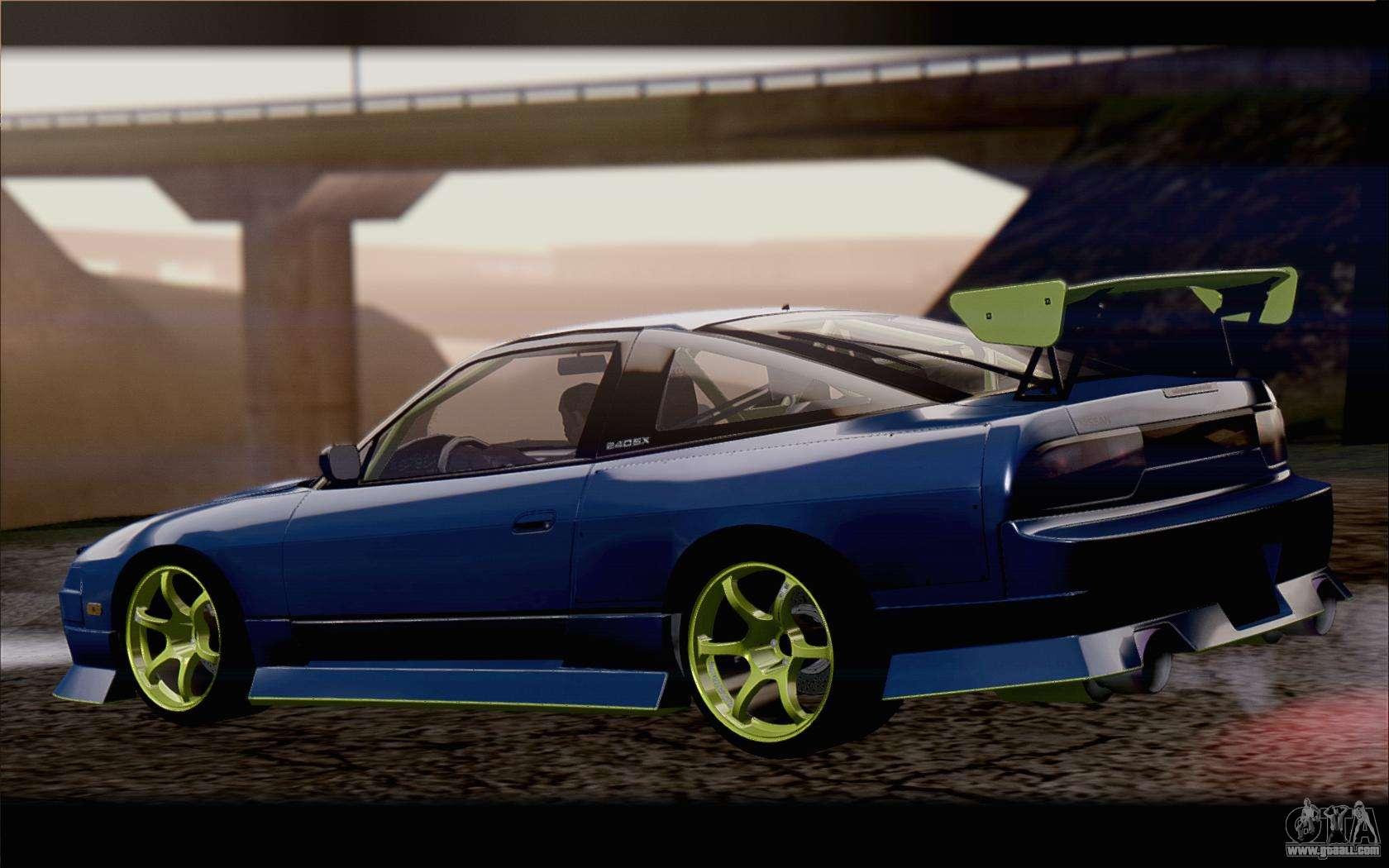 Nissan 240sx drift for GTA San Andreas
