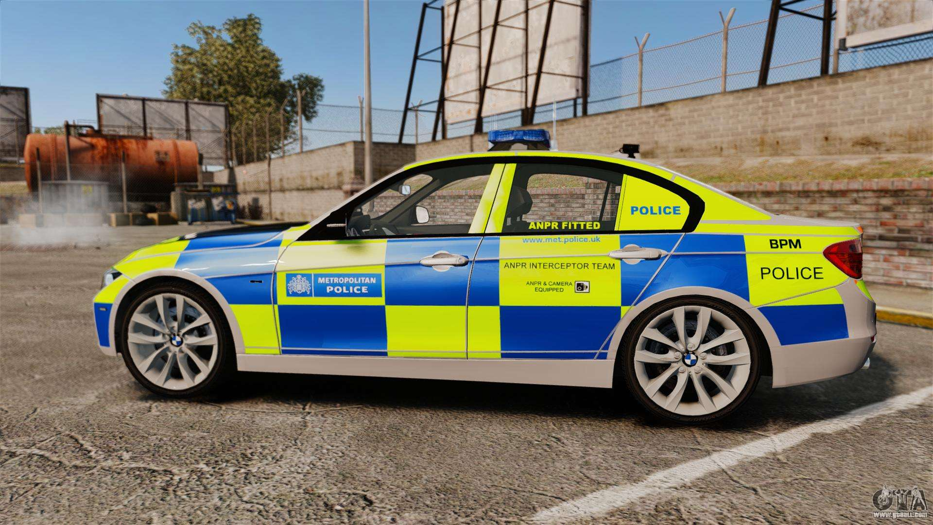 Bmw F30 328i Metropolitan Police Els For Gta 4