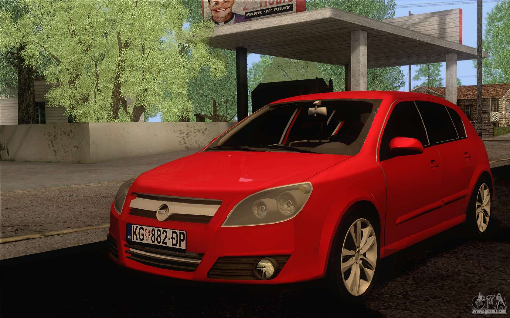 opel astra h for gta san andreas. Black Bedroom Furniture Sets. Home Design Ideas