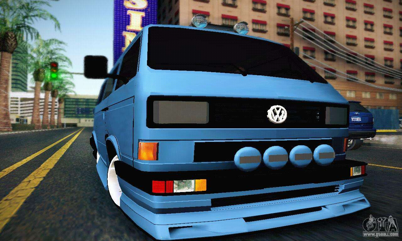 volkswagen transporter t4 for gta san andreas car interior design. Black Bedroom Furniture Sets. Home Design Ideas