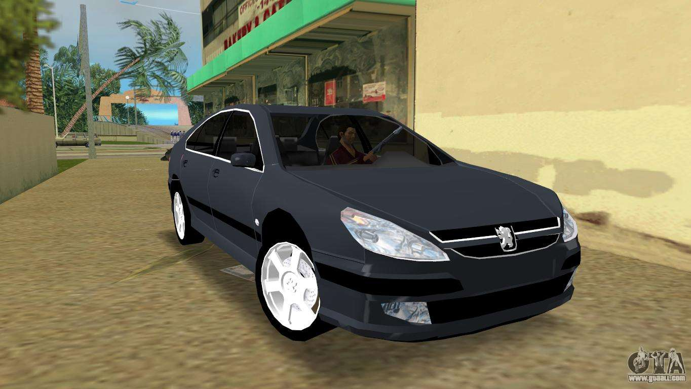 peugeot 607 v6 for gta vice city. Black Bedroom Furniture Sets. Home Design Ideas