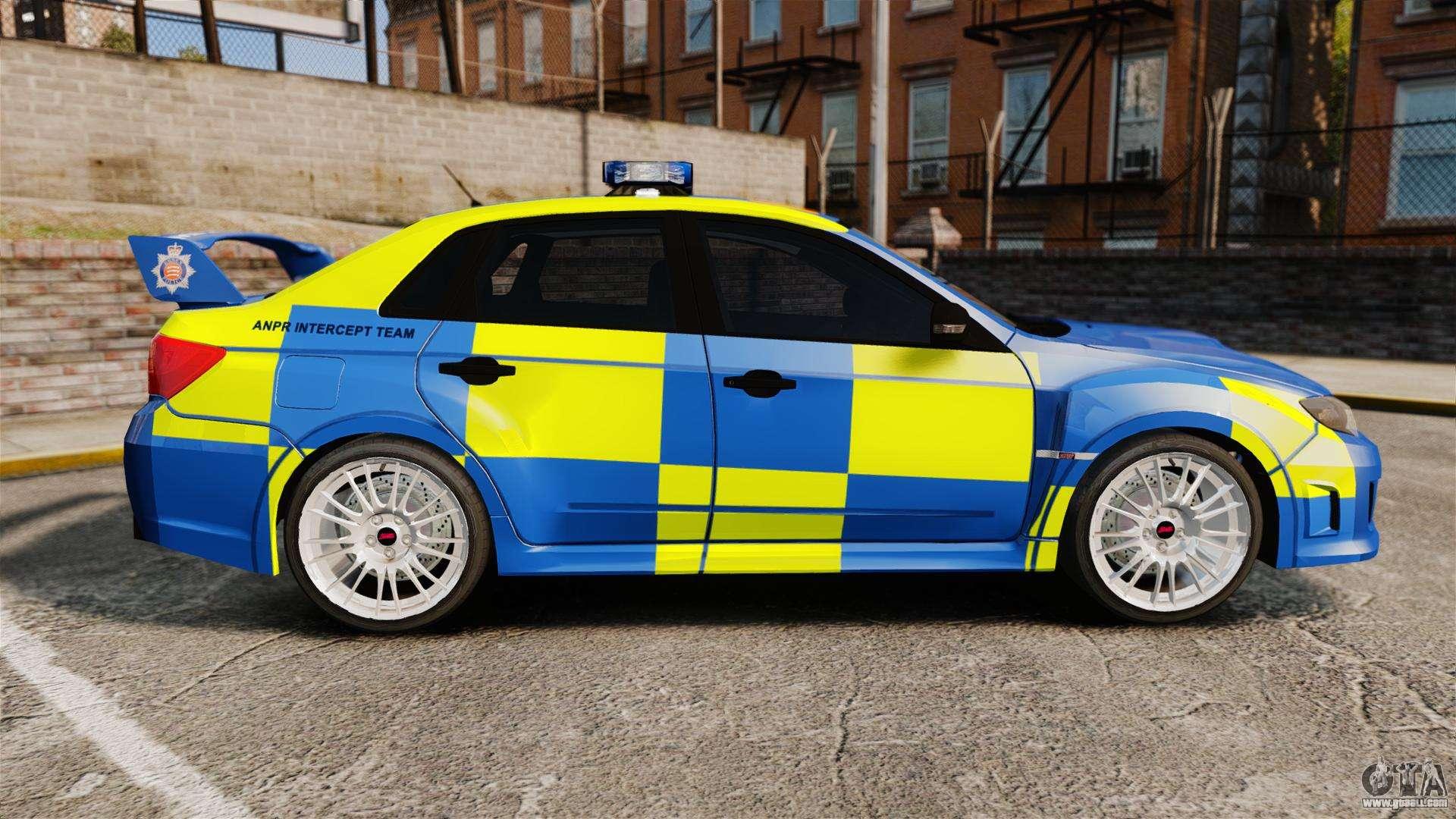 Subaru Impreza Wrx Sti 2011 Police Els For Gta 4