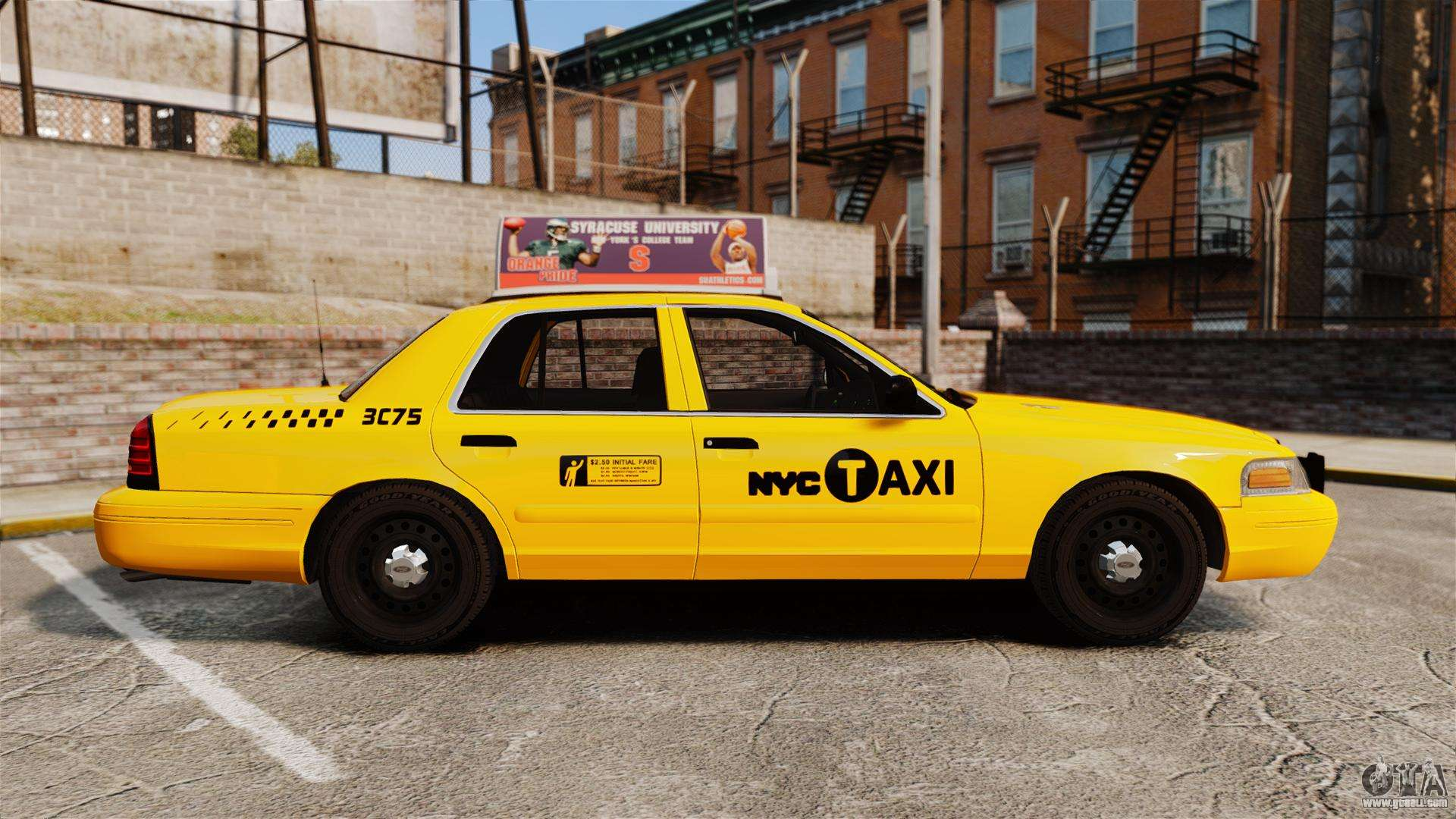 Ford Crown Victoria 1999 Nyc Taxi V1 1 For Gta 4