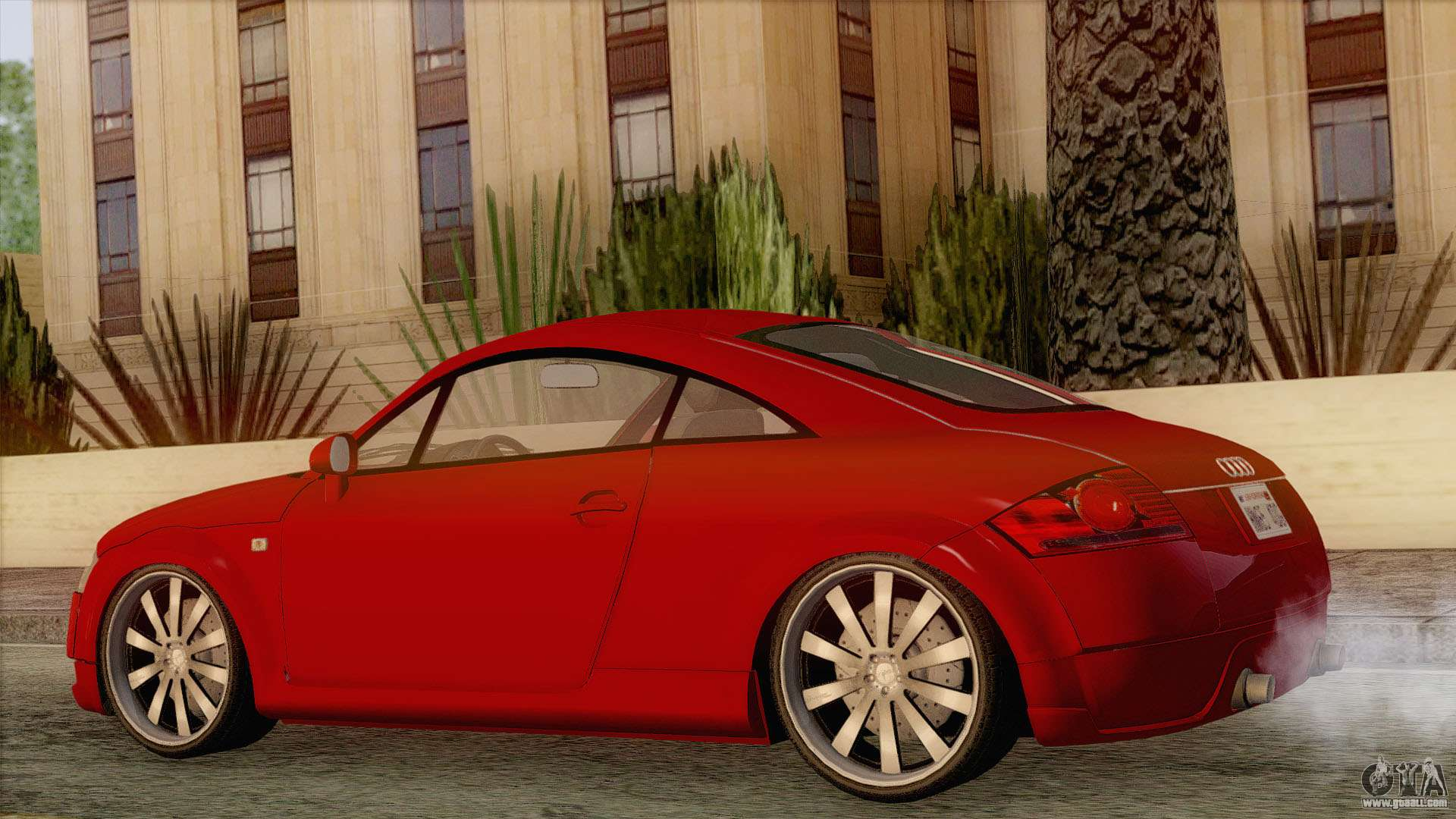 audi tt 1 8t for gta san andreas. Black Bedroom Furniture Sets. Home Design Ideas