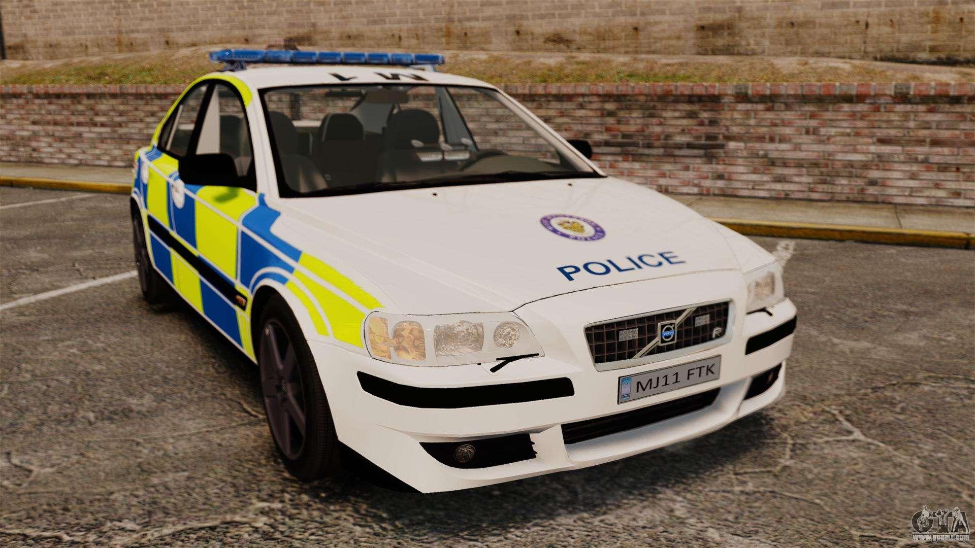Volvo S60R Police [ELS] for GTA 4