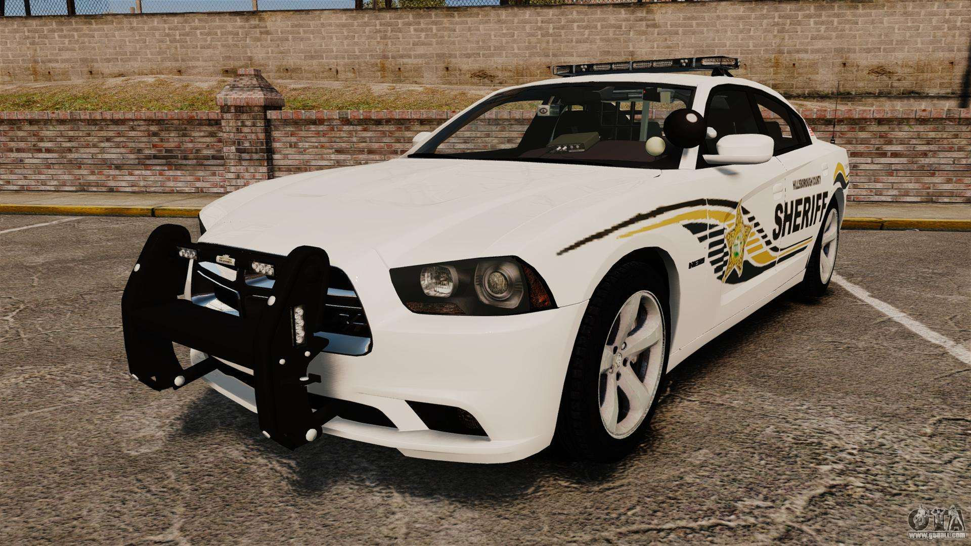 Dodge Charger Rt 2012 Police Els For Gta 4