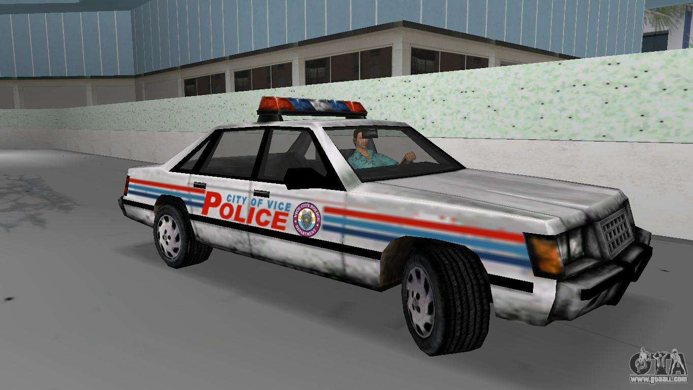 Gta Vice City Police Car