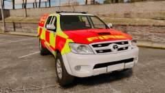 Toyota Hilux British Rapid Fire Cover [ELS]
