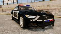 Ford Mustang GT 2015 Police for GTA 4