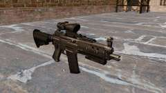 The SIG 552 assault rifle
