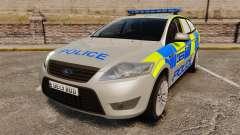 Ford Mondeo Metropolitan Police [ELS] for GTA 4