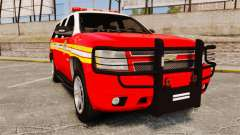 Chevrolet Tahoe Fire Chief v1.4 [ELS] for GTA 4