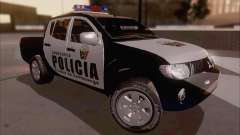 Mitsubishi L200 POLICIA for GTA San Andreas