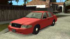 Ford Crown Victoria Unmarked Police for GTA San Andreas
