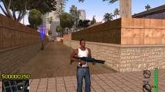 C-HUD v1 for GTA San Andreas