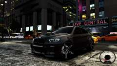 BMW X6 M Hamann 2013 Vossen for GTA 4