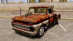 Chevrolet Tow truck rusty Rat rod for GTA 4