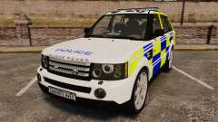 Range Rover Sport Metropolitan Police [ELS]