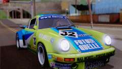 Porsche 911 RSR 3.3 skinpack 4 for GTA San Andreas
