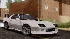 Chevrolet Camaro IROC-Z 1989 FIXED for GTA San Andreas
