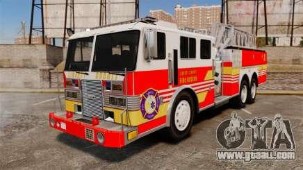 MTL Firetruck MDH1000 LCFR [ELS] for GTA 4