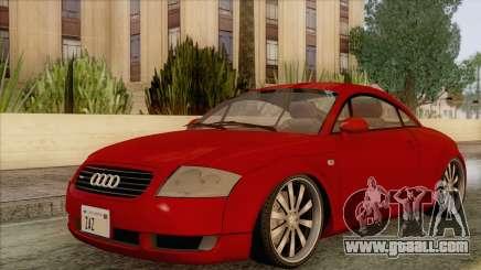 Audi TT 1.8T for GTA San Andreas