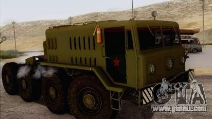 535 MAZ Military for GTA San Andreas