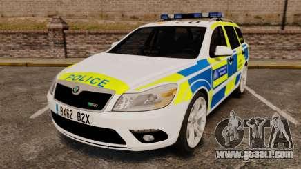 Skoda Octavia Scout RS Metropolitan Police [ELS] for GTA 4
