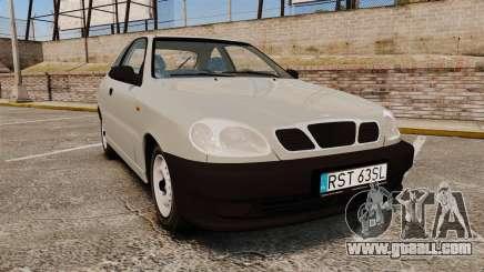 Daewoo Lanos S PL 1997 for GTA 4
