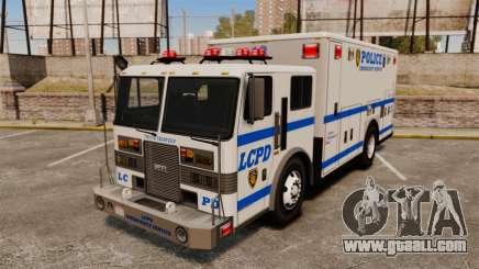 Hazmat Truck LCPD [ELS] for GTA 4