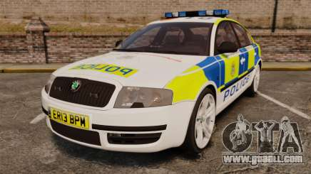 Skoda Superb 2006 Police [ELS] Whelen Edge for GTA 4