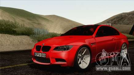 BMW M3 E92 2008 Vossen for GTA San Andreas