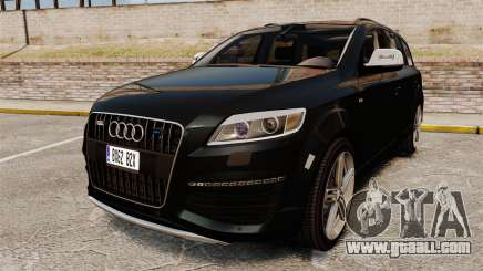 Audi Q7 Unmarked Police [ELS] for GTA 4
