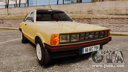 Ford Taunus GLS v2.0 for GTA 4